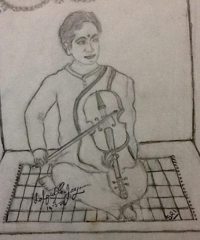 Lalgudi drawing