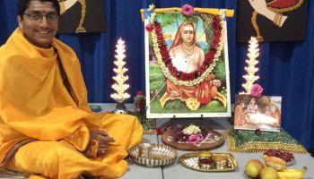 Little Anirudh and Vinuta singing Vinayagar Agaval! – Shankara!