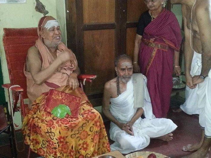 with Bala Periyava Appa Amma